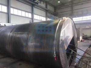 Резервуар РВС стальной вертикальный 400 кубов