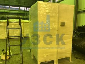 Упаковка продукции для АЭС