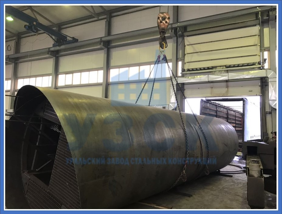 Резервуар РВС стальной