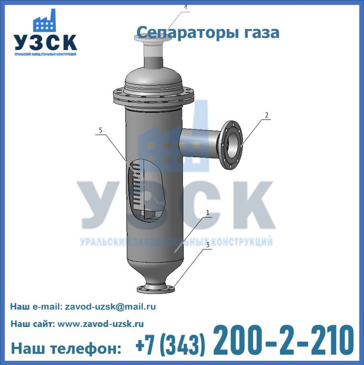 Схема газосепаратора