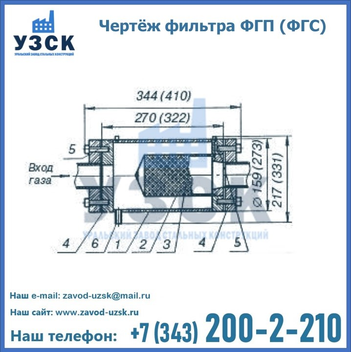 Схема ФГС(ФГП)