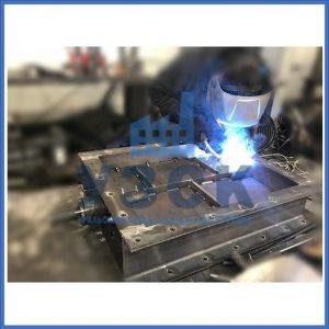 Производство клапанов ПГВУ прямоугольных